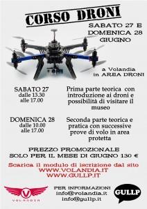NUOVO VOLANTINO DRONI A3